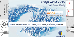 progeCAD Professional 2020 - single