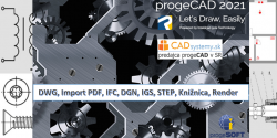progeCAD Professional 2021 - single