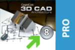 upgrade na CAD Architecture Professional 8