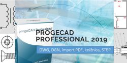 progeCAD Professional 2019 - single
